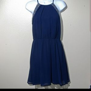 Blue Jewel Dress Teeze Me